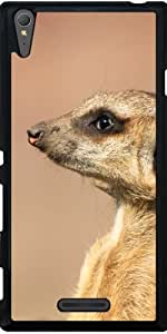 Funda para Sony Xperia T3 - Meerkat by WonderfulDreamPicture