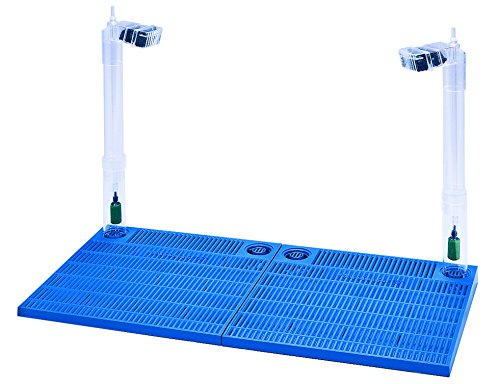 Penn Plax Undergravel Filter  Premium Aquarium 4 Filter Plate System Designed to Fit 40/50 Gallon Tanks