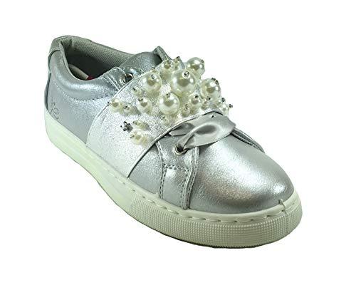 Chaussures Ville Femme pour Argent à de ROSE ROXY Lacets q51Ot5x