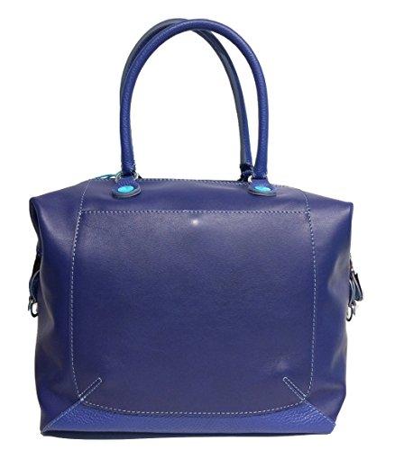 Shopping Trasformabile Pelle Shopping Gabs Trasformabile Gabs Bluette E9ID2H
