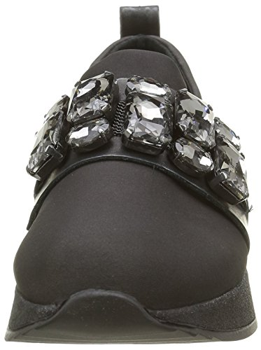 Bronx Shimmer, Women's Low-Top Sneakers Multicolour - Mehrfarbig (Dark Grey/Gunmetal 1798)