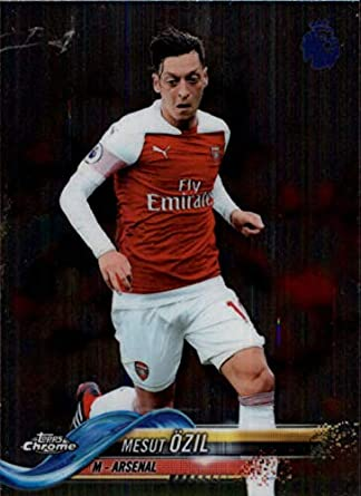 910676719 2018-19 Topps Chrome Premier League #90 Mesut Ozil Arsenal Soccer Trading  Card