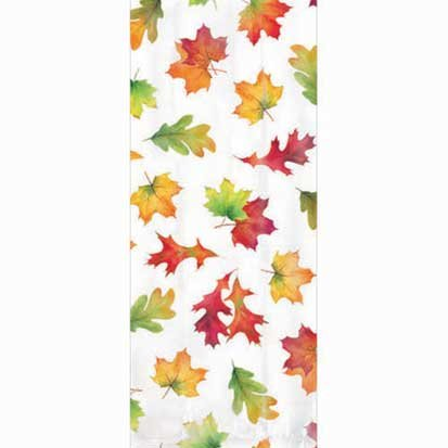 Amscan 379997 Fall Leaves Party Bags, Multicolor -