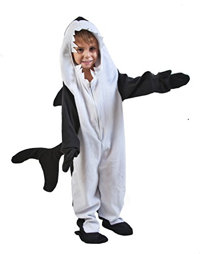 Toddler Black Fish Killer Whale Costume (Size: Toddler 2T-4T)