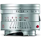 Leica 11679 Summarit-M 35mm/f2.4 ASPH Wide-Angle Lens, Silver