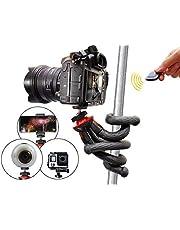 Flexibles Reisestativ mit Bluetooth-Fernbedienung für Smartphones, Spiegelreflexkameras und Actioncams - Atairs