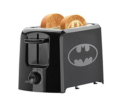 Dc Dcb 21Cn Batman 2 Slice Toaster  Black