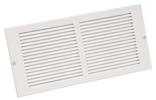 Imperial 10-Inch x 6-Inch Sidewall Grill, White, RG0351