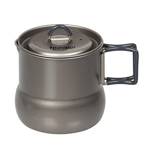 EVERNEW Titanium Pot, 600ml