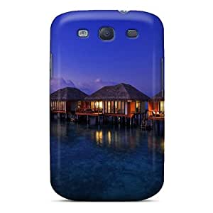 Galaxy Case - Tpu Case Protective For Galaxy S3- Dream Summer Romance