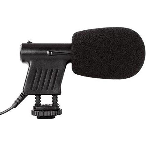Microfone direcional condensador pequeno Boya BY-VM01
