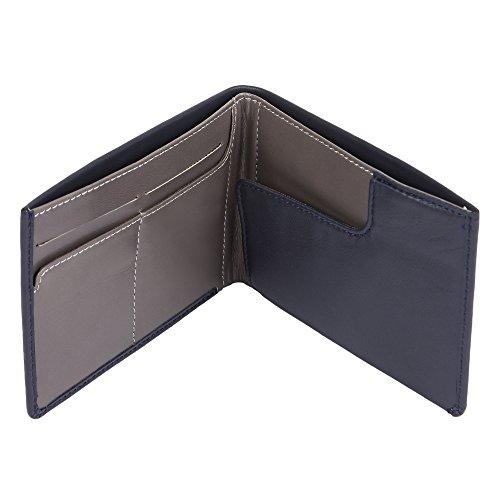 Genuine Leather Travel Passport Wallet Holder