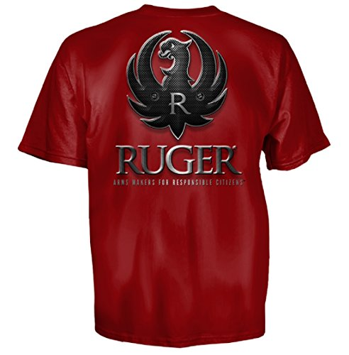 Ruger Sturm (Sturm, Ruger & Co. Tactical Cardinal Logo T-Shirt Cardinal Red L)