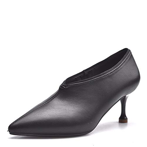 Heel 7Cm In Has Lady It Fair KPHY Fresh Head Thin Beige Professional Shoes A Sharp And Heel High Autumn Thin 4ggwOW6qac