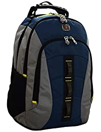 SwissGear Skyscraper Backpack with Laptop Compartment (Blue)
