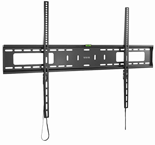 VIVO Black Extra Large Heavy Duty 60 to 100 inch LCD LED Curved and Flat Panel Screen | TV Wall Mount Bracket with Max 900x600mm VESA (MOUNT-VW100F) (60 Inch Tv Wall Mount For A 3d Tv)