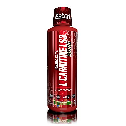 iSatori L-Carnitine LS3 Concentrated Liquid Fat Burner And Metabolism Activator - Fat Burner For Health And Fitness - Stimulant Free - Gummy Bear 3000mg - 32 Servings (Best L Carnitine Liquid)