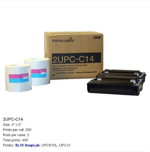 DNP 2UPC-C14 10x15 cm 2x 200 Blatt für Snap Lab by Sony