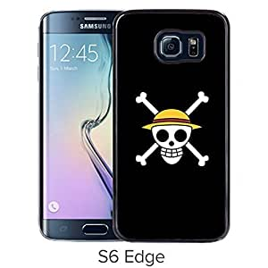 Fashionable and Durable Samsung Galaxy S6 Edge Case Design with One Piece 48 Black Cover wangjiang maoyi