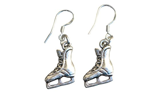 Infinity Collection Skate Earrings, Figure Skating Jewelry- Girls Ice Skating Earrings - Perfect Figure Skating Gifts -