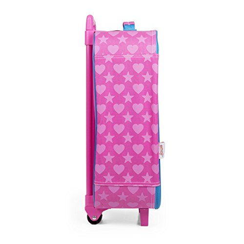 Emoji Pink Rainbow Faces Pilot Case Luggage by FAB Starpoint (Image #2)