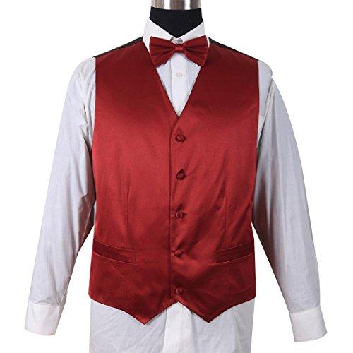 Milano Moda mens Premier Cotton Fabric Vest Sets HLV004 New York Brand by Milano Moda