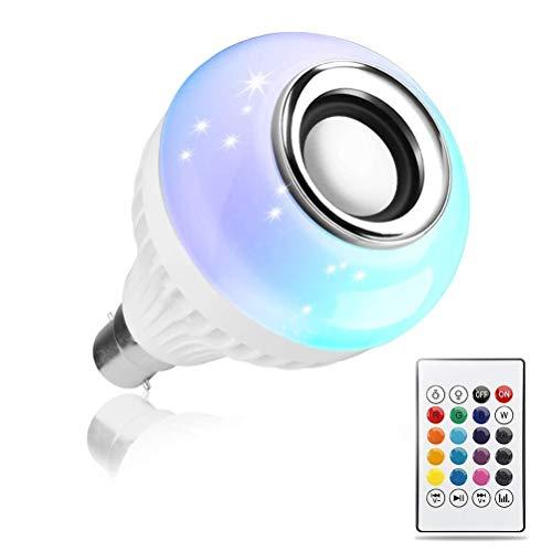 SUPERNIC 12W E27 LED RGB Bulb, 1 Bulb, 1 Remote Control, 1 User Instruction, 1 B22 Bulb Adapter