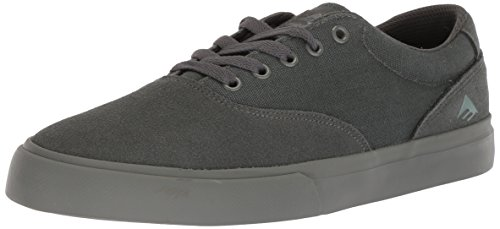 Emerica Provost Slim Vulc Skate Shoe,Grey/Grey,8.5