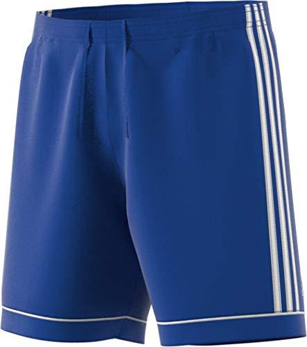 adidas Men's Soccer Squadra 17 Shorts, Bold Blue/White, X-Small -