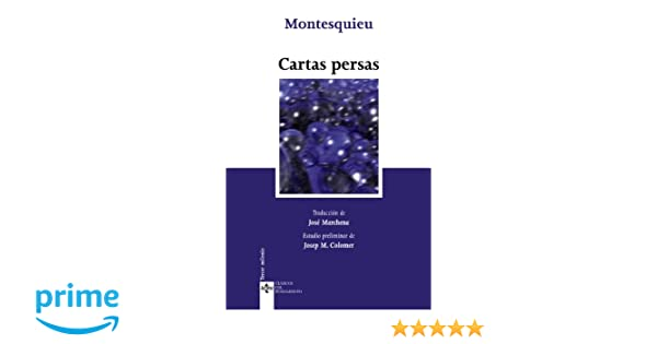 Amazon.com: Cartas persas/ Persian Letters (Clasicos Del ...