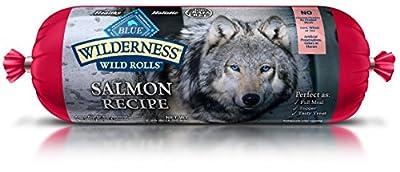 Blue Wilderness Adult Grain-Free Wild Rolls Salmon Wet Dog Food 2.25-Lb from Blue Buffalo Company, Ltd