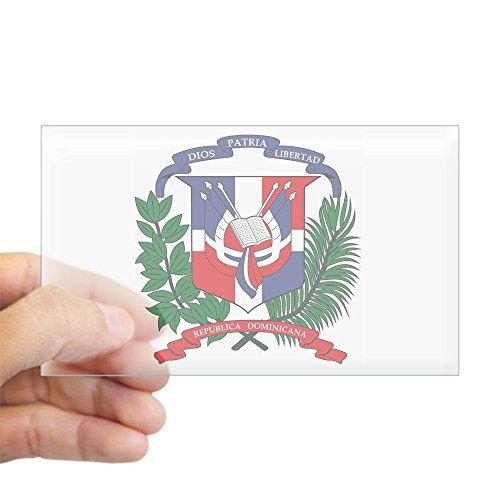 CafePress - Dominican Republic Coat Of Ar Sticker (Rectangular - Rectangle Bumper Sticker Car (Dominican Republic Coat Of Arms)