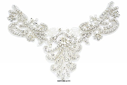 Diamante Applique rhinestone applique wedding