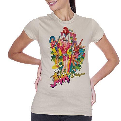 Sand shirt Holograms Choose Cartoon And Jem The T Color Ur pwqvCw6