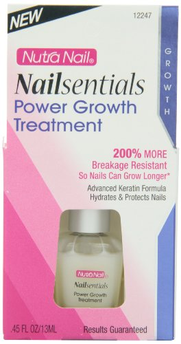 Nutra Nail Nailsentails Power Growth Serum, 0.45 Fluid (Nutra Nail Growth Treatment)