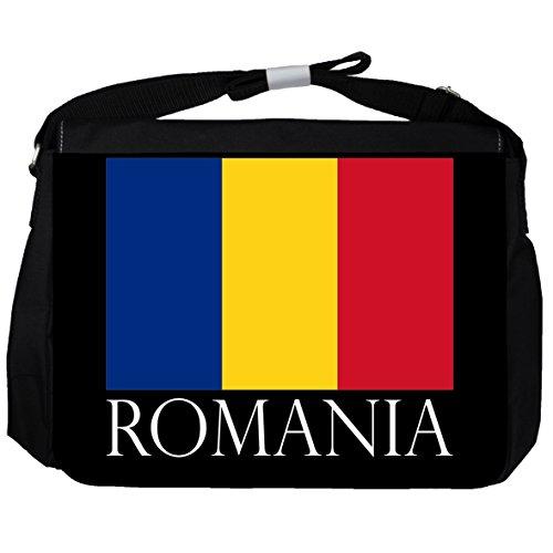 Rumänien -Flagge - Unisex-Umhängetasche