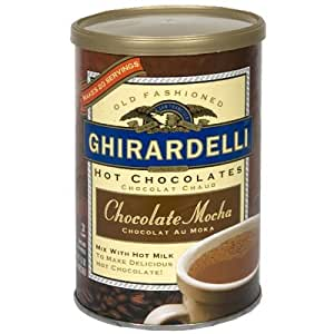 Ghirardelli Hot Chocolate Mix , Chocolate Mocha, 16 oz Can