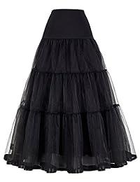 GRACE KARIN Women's Ankle Length Petticoats Bridal Slips