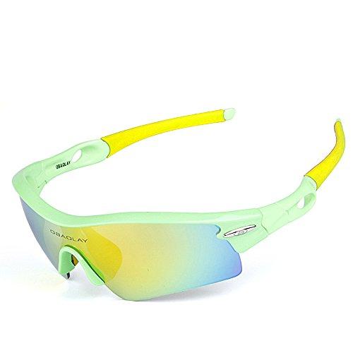 extérieures de Yellow Protection 1 WEATLY polarisées 01 Green 1 Lunettes de UV400 Lunettes Clarity 1 Lunettes Hommes Soleil Color de Soleil EwEqxF78T