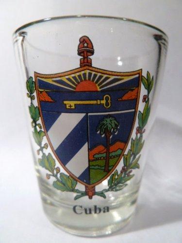 Cuba Coat Of Arms Shot Glass