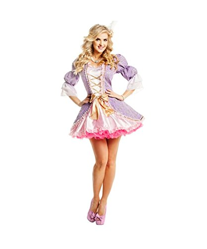 French Beauty Adult Costume - Womens Large (12-14) -
