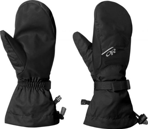 Outdoor Research  Men's Adrenaline Mitts, Black, S