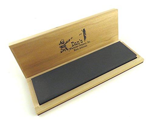 Black Arkansas Stone (Genuine Arkansas Black Surgical (Ultra Fine) Knife Sharpening Bench Stone Whetstone 8