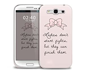 marie quote Samsung Galaxy S3 GS3 protective phone case