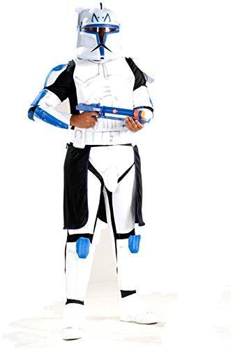 Rubie's Costume Co Deluxe Clonetrooper Captain Rex Costume,