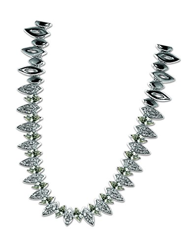 Inspired Treasures Marquise Cut Crystal Collar - Swarovski Crystal - Licensed by V&A Victoria and Albert Museum, London