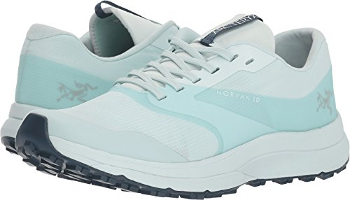 Arc'teryx Women's Norvan LD Dewdrop/Hecate Blue Rubber Trail Running Shoe 8