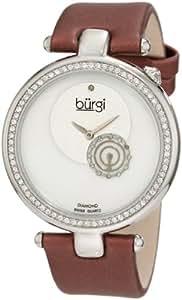 Burgi Mujer BU42BUR Round Swiss Quartz Dazzling Diamond Reloj