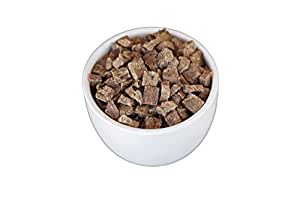 Freeze Dried Meats for Lunch and Dinner Meals (10 Servings of Beef Dices) - Long Term Emergency Food Supply by Valley Food Storage