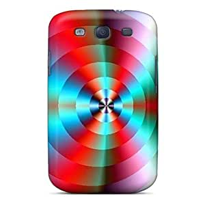 Cynthaskey Case Cover For Galaxy S3 - Retailer Packaging Abstract Protective Case
